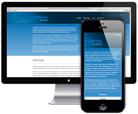 Webdesign Leer - Responsive und mobile Internetseiten